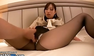 Japanese adjunct POV sex just about pantyhose