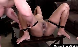 Asian Milf Maxine X Bound &amp_ Banged Overwrought Scott Rhodes!