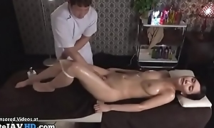 Japanese rub down sex with beautiful mollycoddle