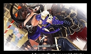 SOUL CALIBUR / SHURA FUCKED Off out of one's mind NIGHTMARE COCK [SFM]