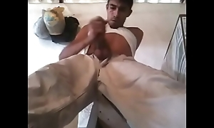 Billet cocoNUT farmer shooting out tasty white cum well up