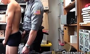 Asian shoplifter jizzing