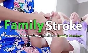 FamilySTROKE.net - Original Stepmom Squirting on high Son'_s Cock