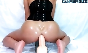 Bottomless gulf anal squirting close to huge dildo - claimfreeproducts.com