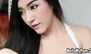 Sexy Model Thailand Carry on Her Beautiful Slow Motion 60fps