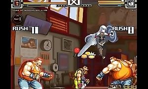 street fighter Ako/Yuzuriha/Selvaria battle leman