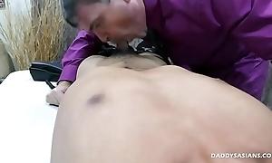 Daddy Dildo Fucks Asian Boy Jude