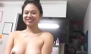Unlighted Oriental slut