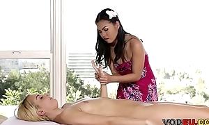 VODEU - Asian massage - Aaliyah Love, Cindy Starfall
