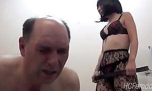 Japanese mistress whips her slave painless he learns Japanese