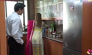 Lonely beautiful wife falls abut to husband'_s pervy boss Niks Indian