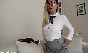 Well done Asian Schoolgirl Teen Harriet Sugarcookie Solitary