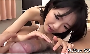 Unspecific deepthroat heavy ding-dong after getting her pussy finger fucked