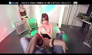 BaDoink VR Striptease Audition With Miyuki Foetus And Naty Mellow VR Porn