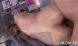 Tight asian mom uses vibrator to beg her cookie scruffy