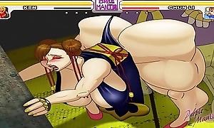 Chun-Li Gets Fucked Hard - Purplemantis