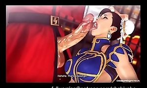 Driveway FIGHTER / CHUN-LI (TRAINING OUTFIT) FUCKED BY M.BISON [SFM]