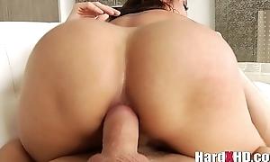 Busty asian Kaylani Lei hard anal