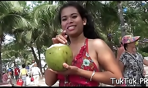 Hot guy rams a narrow thai cunt and screws the babe carnal
