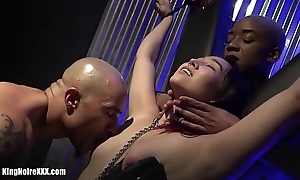 Boss Noire &amp_ Ashley Paige make Dragona Cum