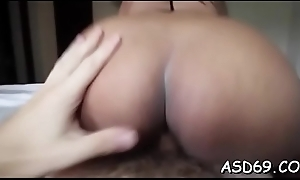 That pet likes to touch a cock with her hot tongue coupled with to lick it