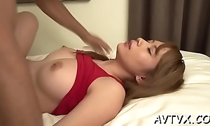 Mind-blowing and wild fucking with sexy oriental chest