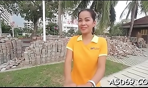 Coarse banging of a thai playgirl