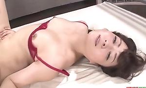 Mizuki Ogawa throats before letting dicks in will not hear of  - More at Japanesemamas.com