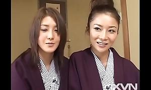 Chihiro Asakura &amp_ Rion Nagasawa - Sex on chum around with annoy Countryside Atami 2