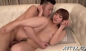 Effectuation with a racy japanese cum-hole