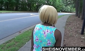 Risky Middle Of Ambitiousness Blowjob &amp_ Big Ass Ebony Booty Out For Stranger Msnovember