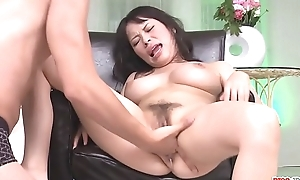 Kyouko Maki snatch gets worked by sex toys - More at Pissjp.com