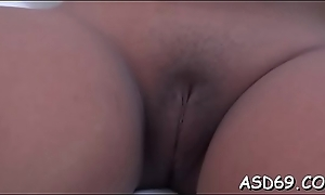 Trample and riding a large wang