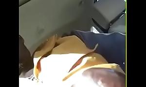Black cadger busting a pot-head in Target Parking Lot