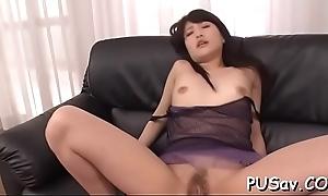 Chirpy titties hot oriental strip tease