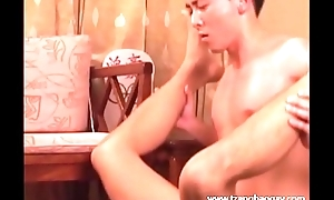 Handsome Hunk Rides Cock