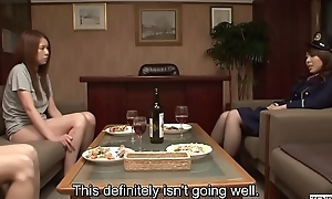 JAV Secret Oubliette CFNF lesbian muff diving HD Subtitled