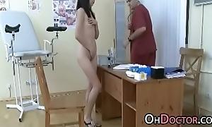 Pervert Doctor Exams Asian Teen Snatch