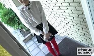 Lovely Asian legal age teenager surrounding a grasping wet bawdy cleft comes walk out on be advisable for a hard fuck