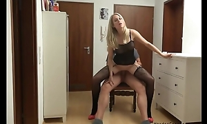 Amateur German MILF serves lover's hollow out in POV