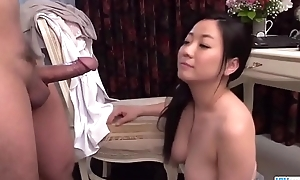 Busty Shino Izumi loves sucking along to cock until inch a descend  - Nearby at 69avs com