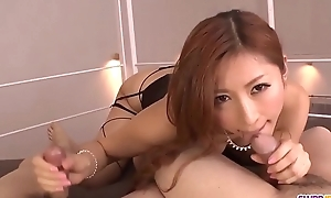 Sloppy blowjob in sensual scenes within reach the end of one's tether naked Reira Aisaki - More within reach Slurpjp.com