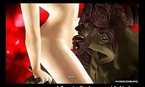 TEKKEN / JUN FUCKED BY GIANT OGRE [SFM]